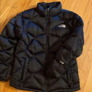 Kids - Girls Large Black puffer